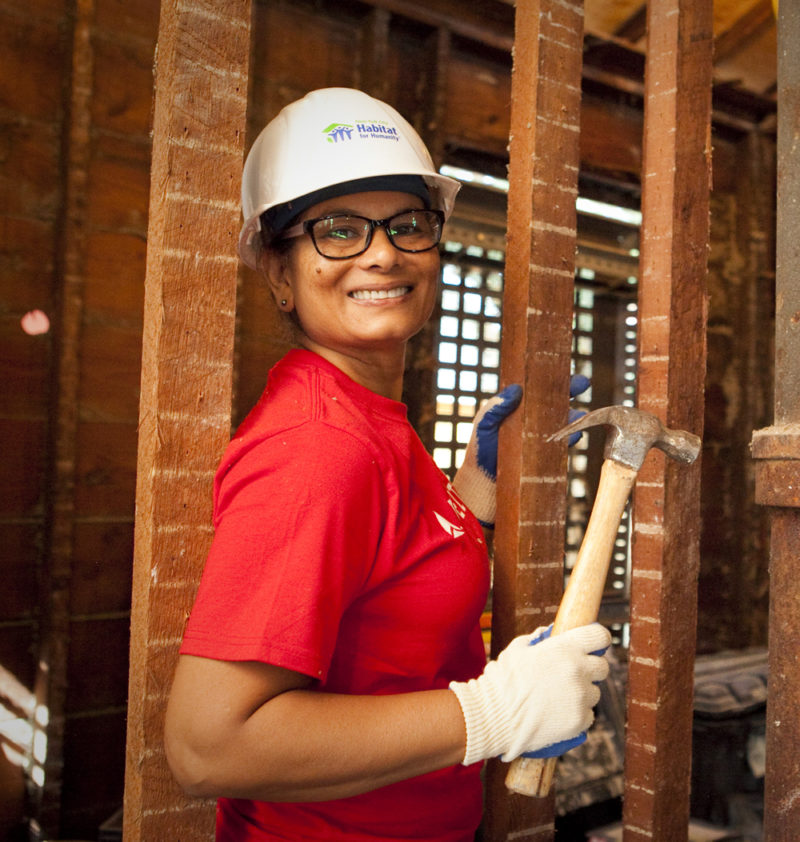 Nadia S., Corporate Volunteer with Delta Air Lines