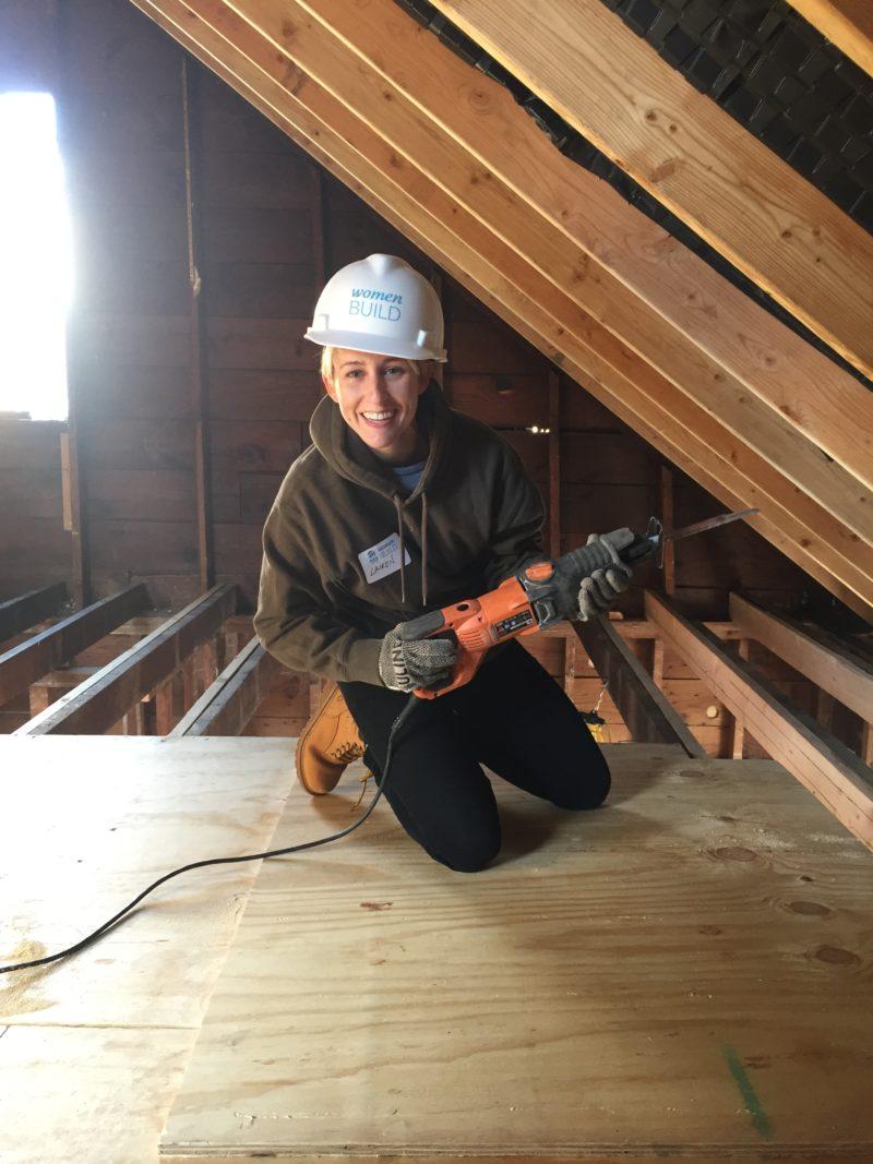 Lauren F., Construction in Queens